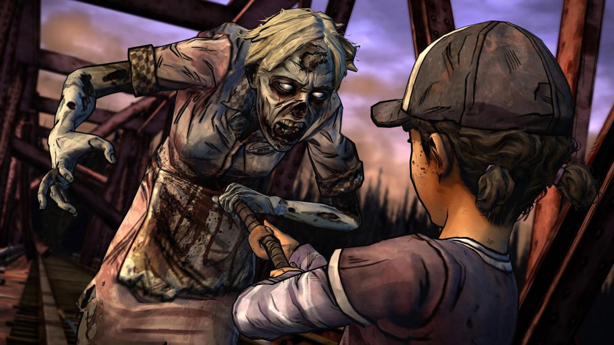walking dead season  comes ps xbox one october the two