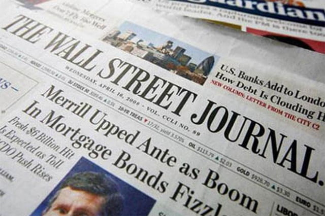 the wall street journal paid news app ios android for