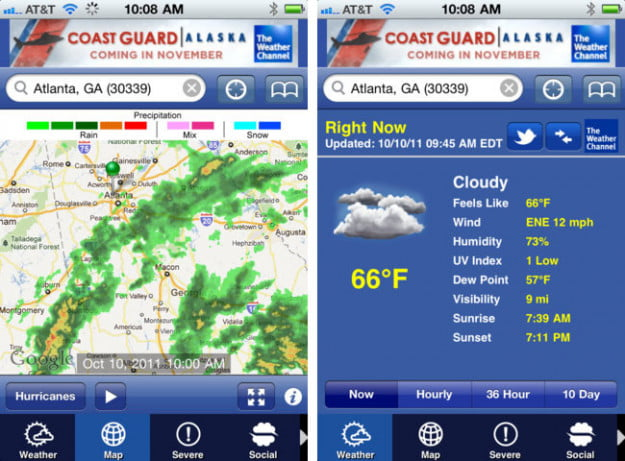 The-Weather-Channel-ipod-touch-app-screenshot