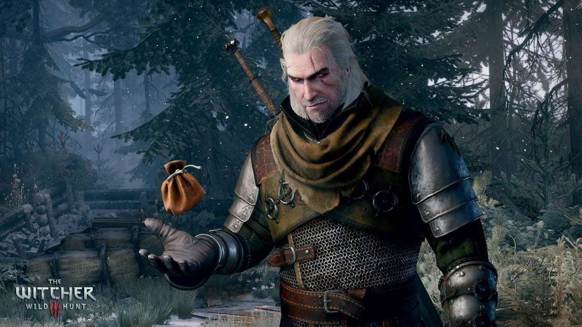 witcher  money exploits the wild hunt getting paid best part of job