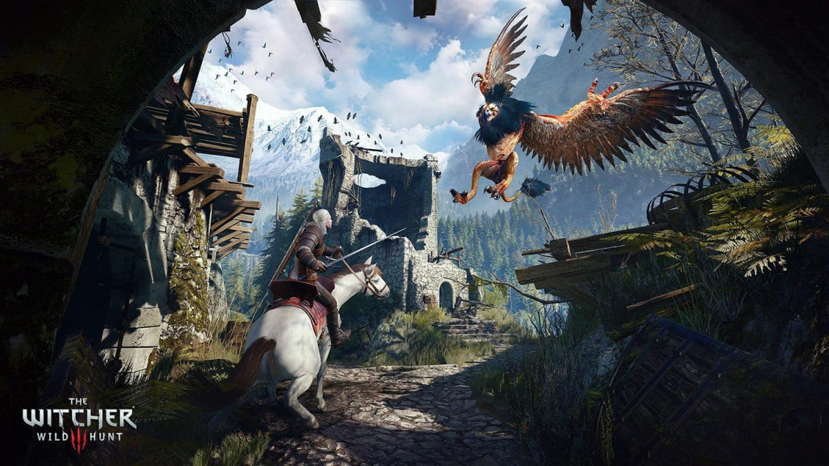 witcher  new game plus the wild hunt