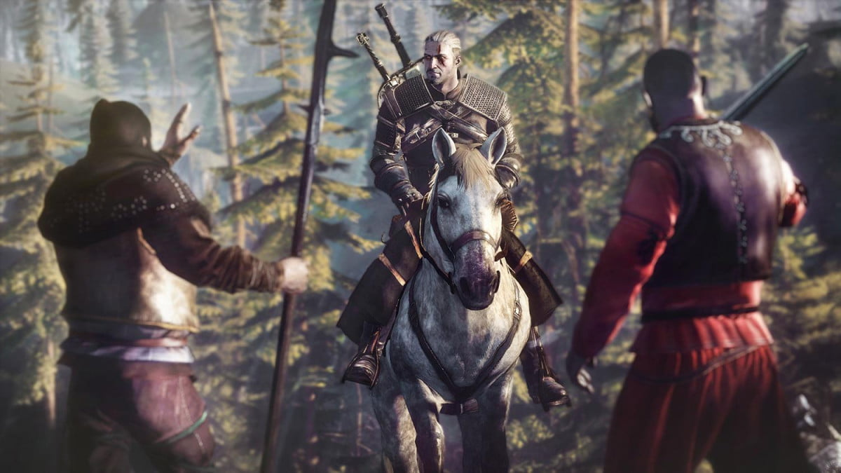 witcher  patch new movement the wild hunt