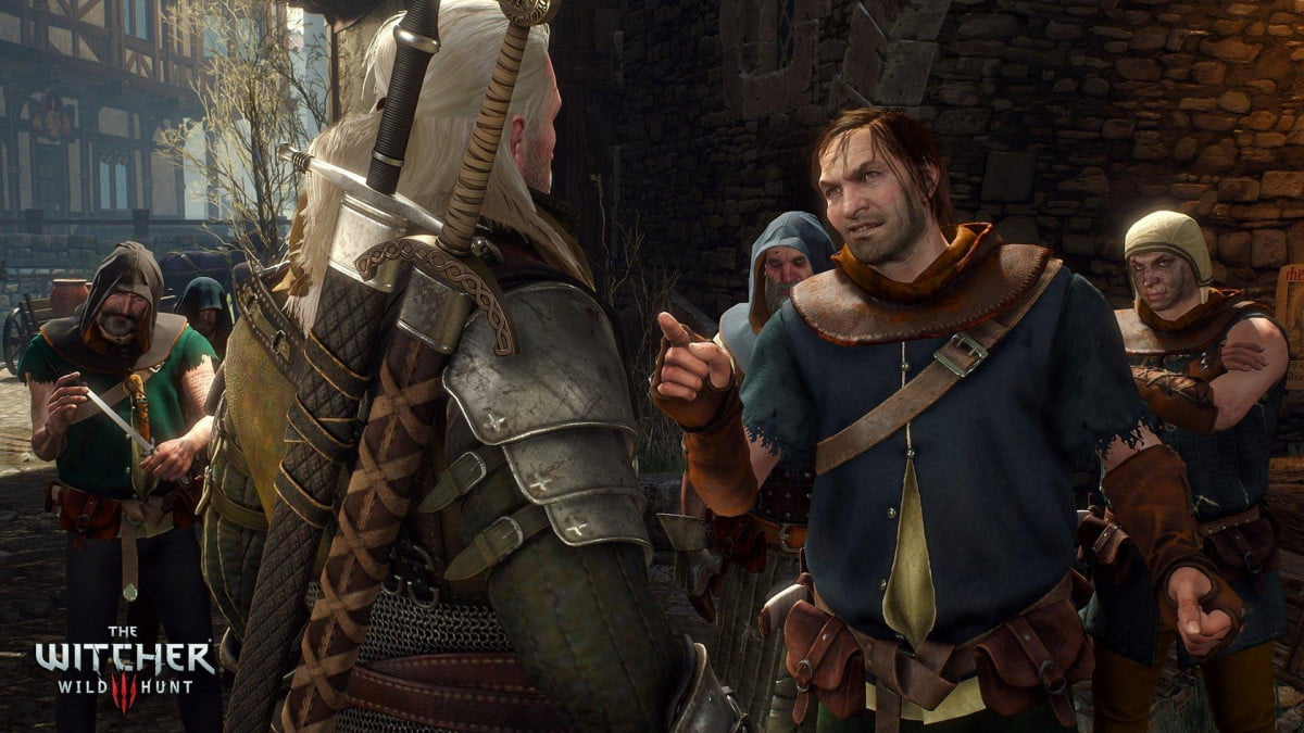 witcher  patch the wild hunt they think it ll be an easy fight
