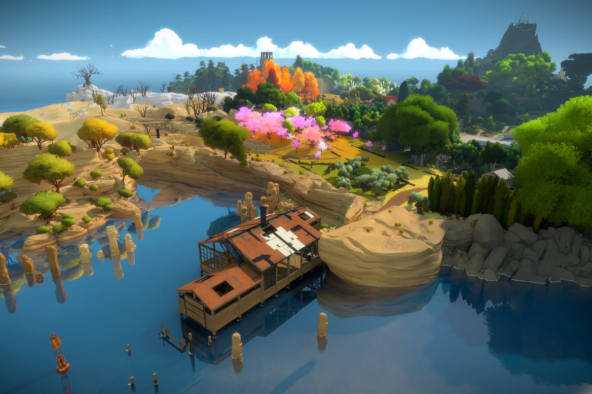 the witness puzzle guide header