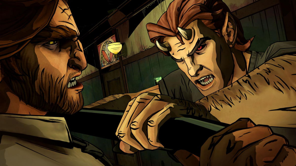 telltales walking dead wolf among us coming xbox one ps  the season screenshot
