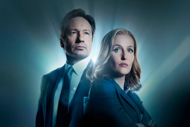 the x files revival gillian anderson pay gap david duchovny fox