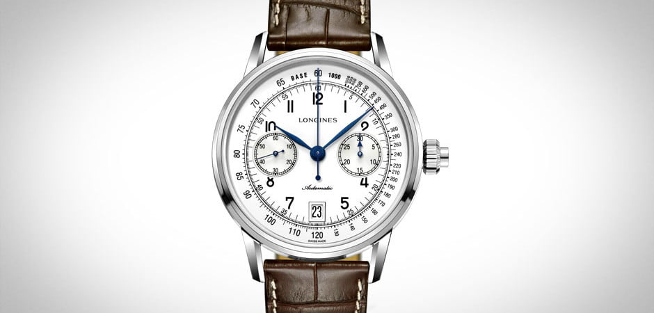 Longines Mono-Pusher Chronograph