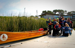 wilderness inquiry uses canoemobile to help the disabled experience national parks