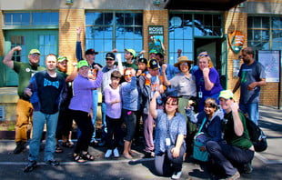 adults with disabilities canoe with Toad&Co and Wilderness Inquiry