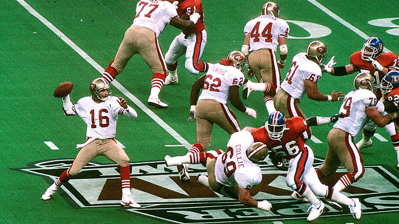 brief history super bowl 49ers