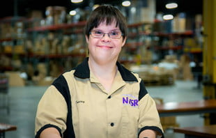 a member of Toad&Co's PAC initiative to provide jobs and training for adults with disabilities