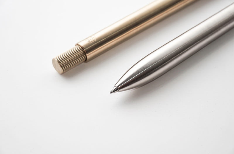 ajoto silver and gold pens