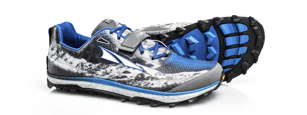 Altra King MT black and blue