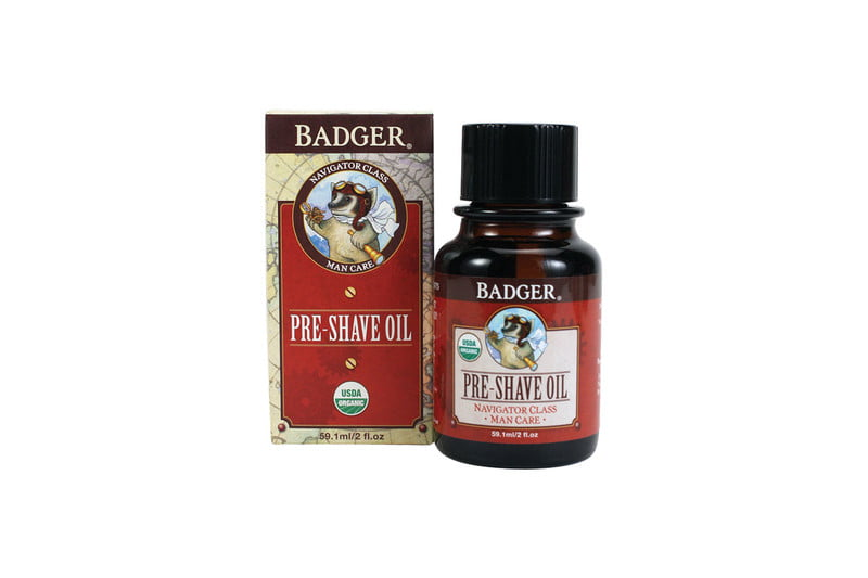 Badger Navigator Class Man-Care Pre-Shave Oil