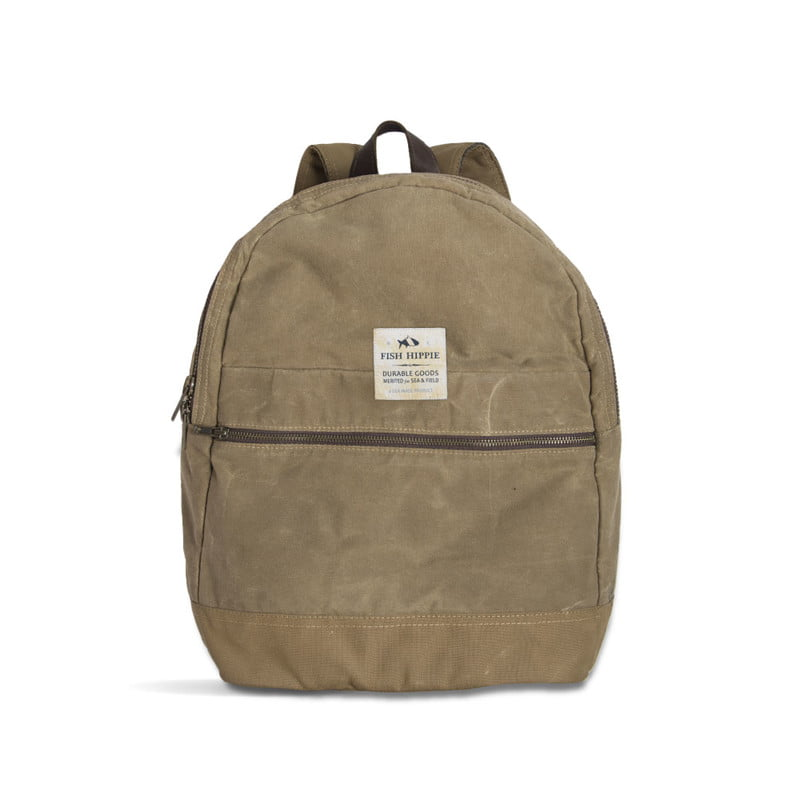 outdoor brand fish hippie debuts new line packs totes bagsphoto backpack front