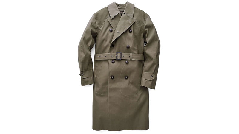 BELTED DORNOCH TRENCHCOAT BY TODD SNYDER + MACKINTOSH