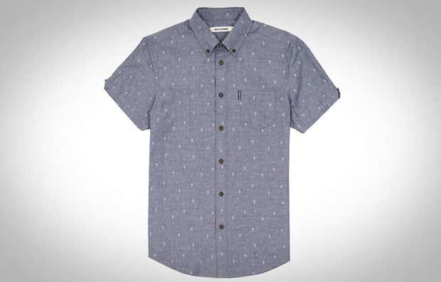 Ben-sherman short sleeve button-up, chambray
