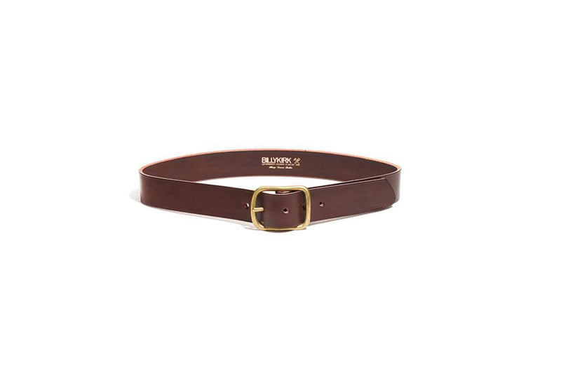billy kirk center bar leather belt