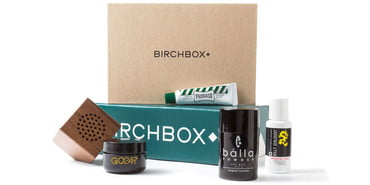 Birchbox delivery box, best subscription boxes for men