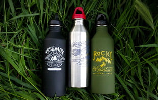 parks project water bottles