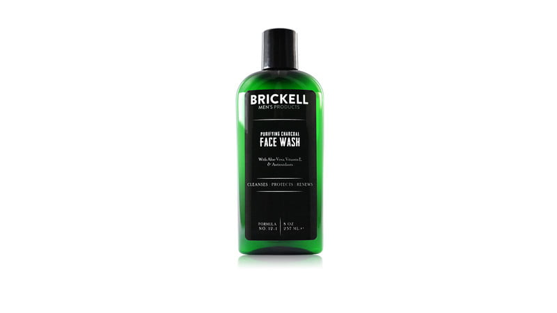 Brickell Men's Products Purifying Charcoal Face Wash