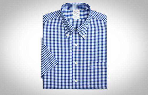 Brooks brothers button up, short sleeve button up