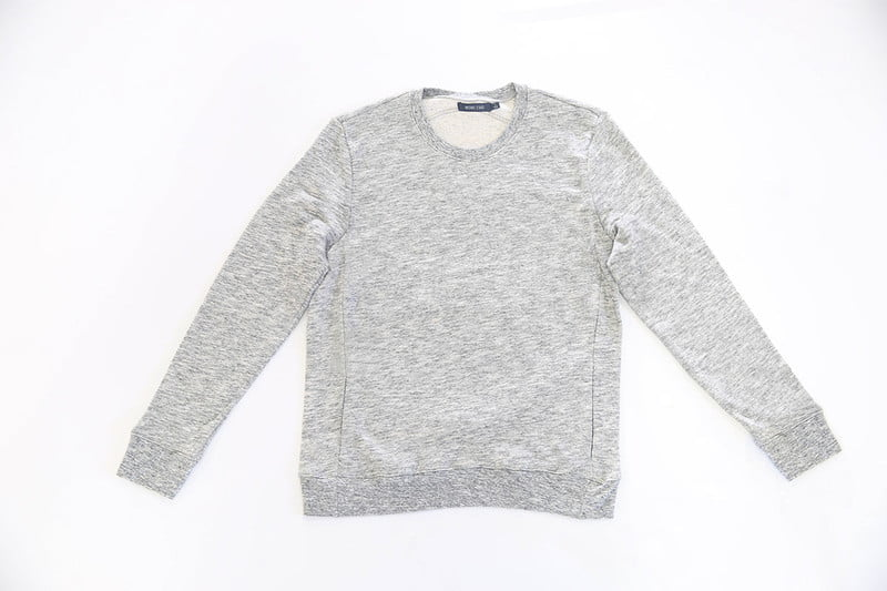 Brushed Loopback Terry Pullover by MICHAEL STARS