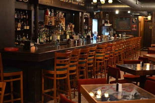 Butter Run Saloon in St. Clair Shores, Michigan, offers plenty of whiskey for imbibers.