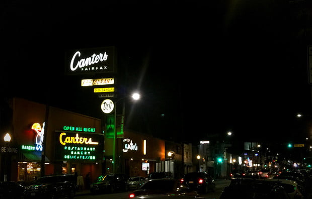 canter's on fairfax home of pastrami and guns n' roses