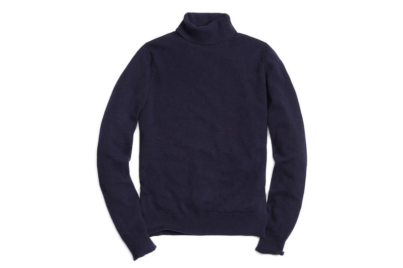 Cashmere Turtleneck Sweater by BROOKS BROTHERS