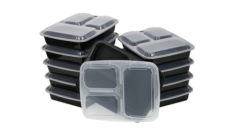 ChefLand 3-Compartment Container