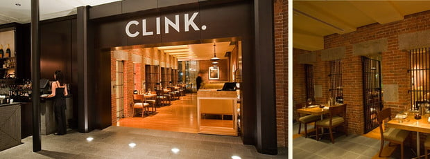 CLINK. Restaurant at Boston's Liberty Hotel
