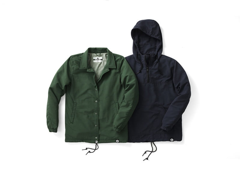 lightweight jackets for spring coach sjacket anorakjacket laydown