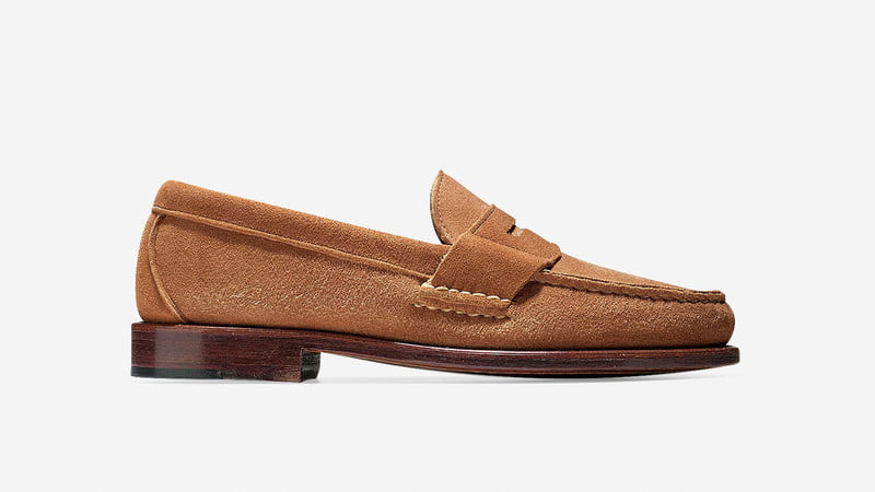 Cole Haan Pinch America Loafer in Pecan