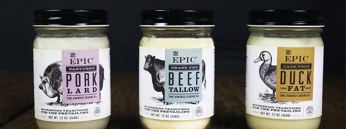 EPIC provisions animal cooking oils