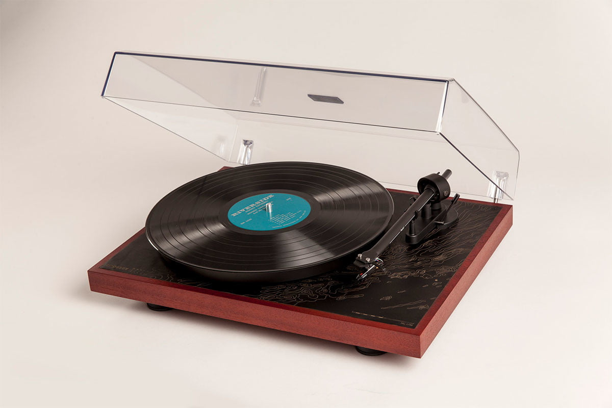 Moore & Giles and Crosley record player