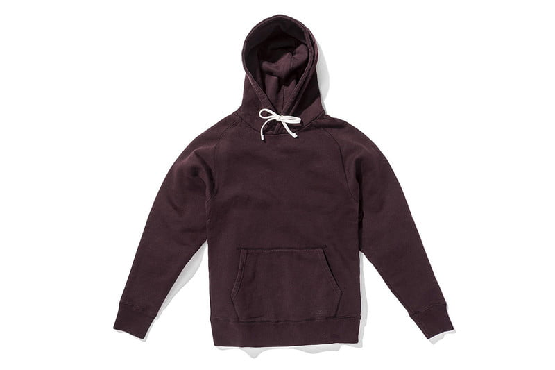 Ditch Pullover Sweatshirt in Oxblood by SATURDAYS NYC