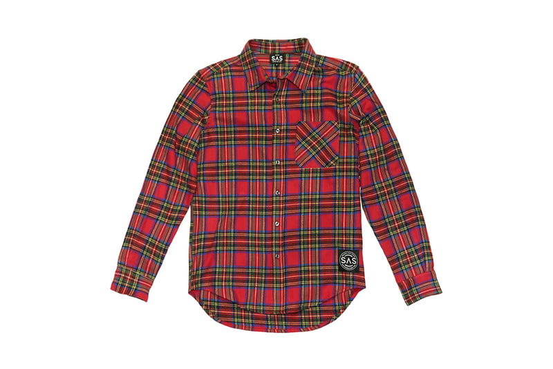 Sustainable New York flannel shirt