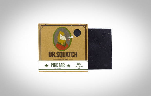 Dr. Squatch Soap Company Pine Tar Soap