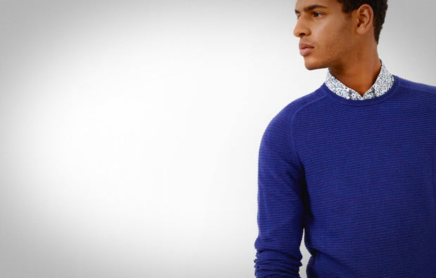 Ted Baker Blue Sweater