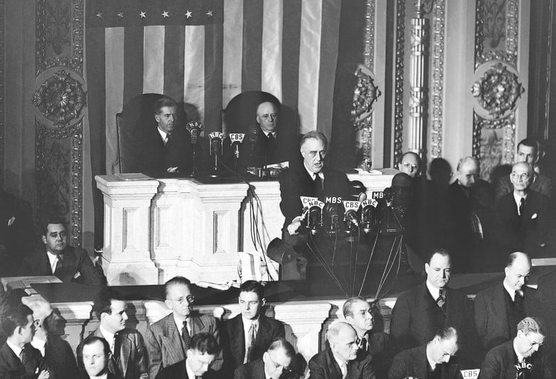 roosevelt address congress