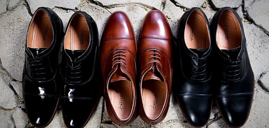 combatant gentleman toecap shoe line for men leather and suede shoes and boots
