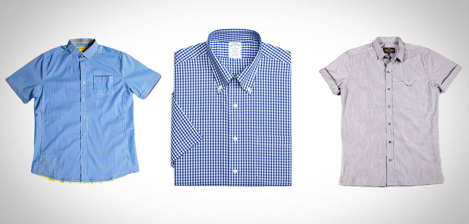 short sleeve button-ups, collared shirts, button-ups, chemise