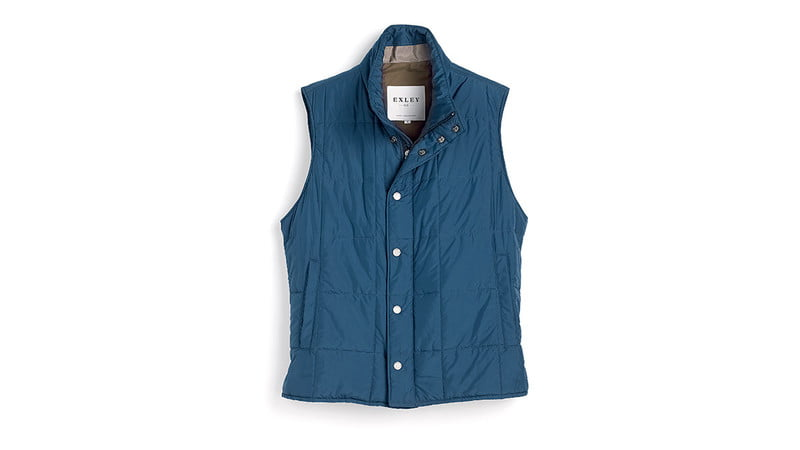 FEATHERWEIGHT QUILTED VEST BY EXLEY