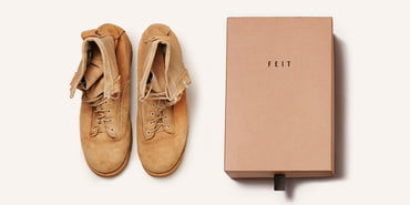FEIT shoes participates in NYC winter shoe drive