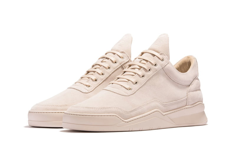 Filling Pieces Low Top Ghost Tone Beige