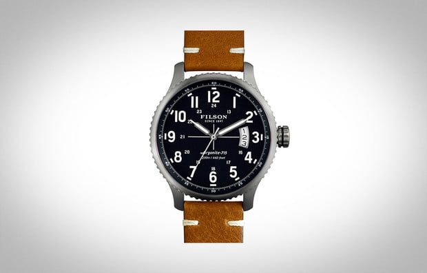 Filson Mackinaw Field Watch, best mens watches under 1000