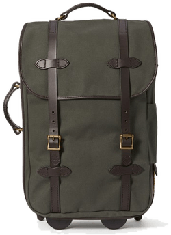 filson rolling carry on_burned