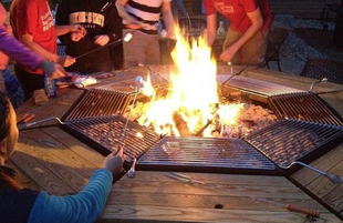 FIRE PIT, jag grill, outdoor dining, outdoor grilling