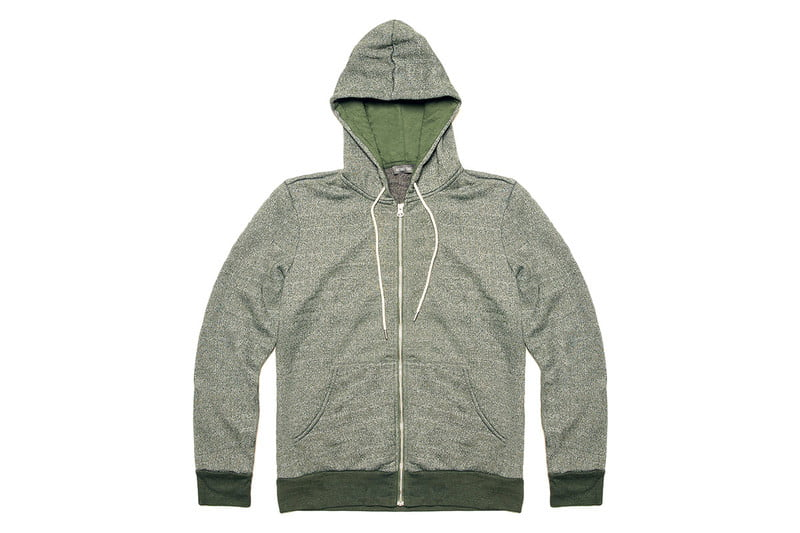 French Terry Full Zip Hoodie by MICHAEL STARS